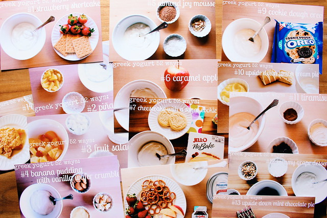 five on friday // printing my greek yogurt 52 ways recipes for my fridge