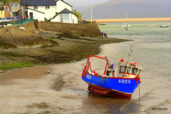 Abervovey At Low Tide