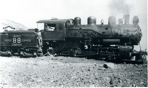 united verde copper co 88 | by Verde Canyon Railroad