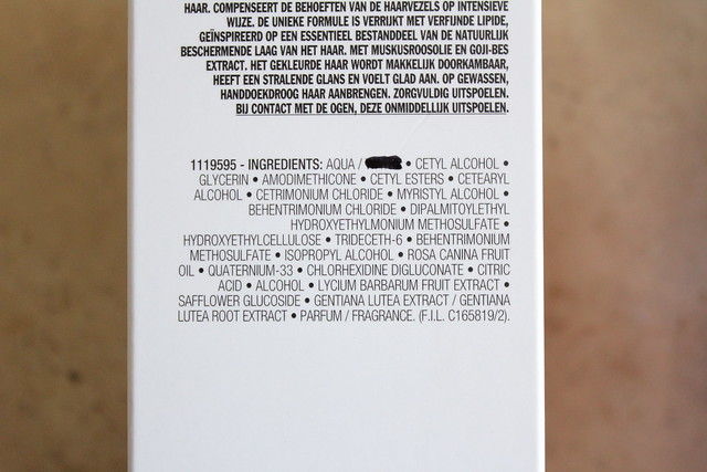Shu Uemura Color Lustre Brilliant Glaze Conditioner ingredients