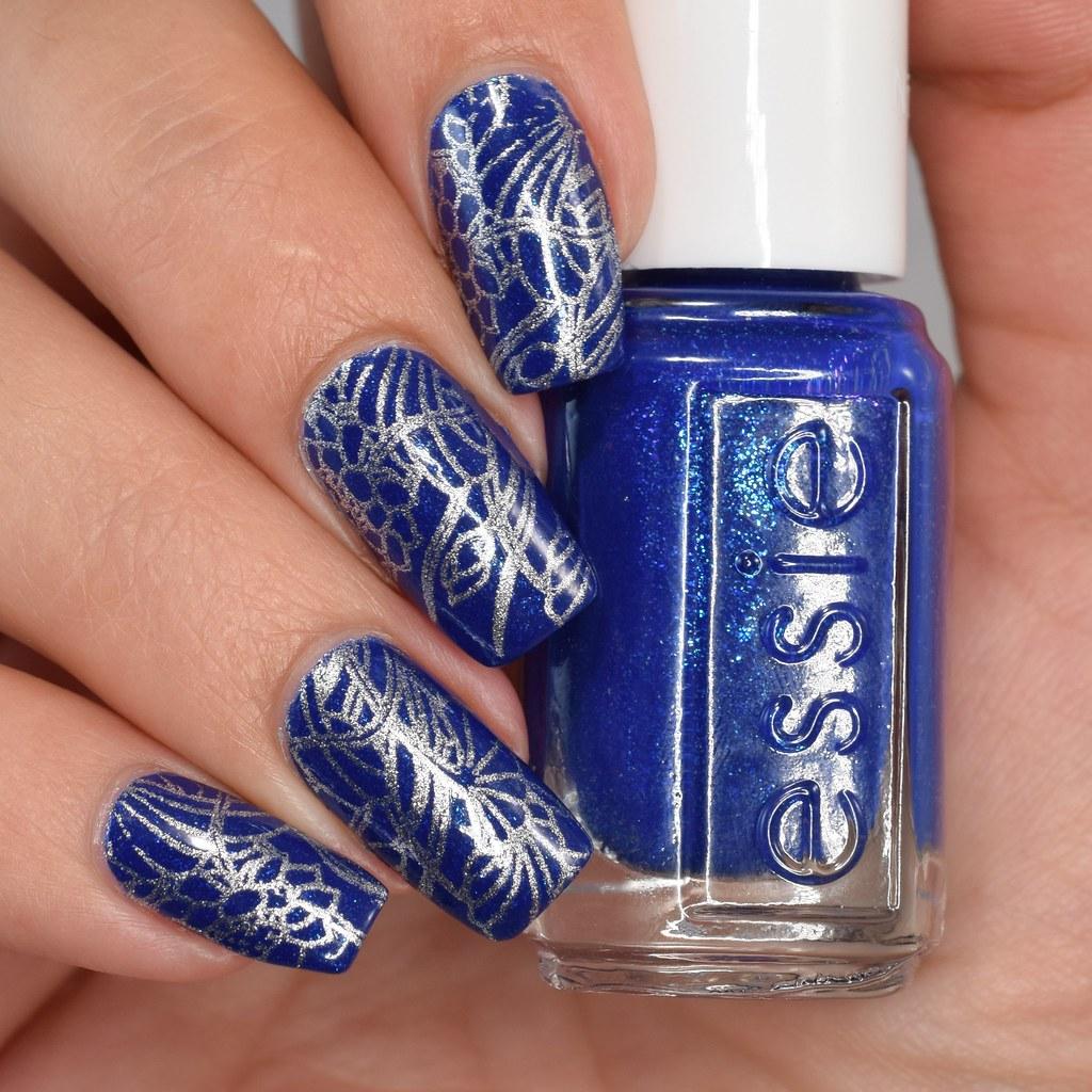 Stamped Nail Art