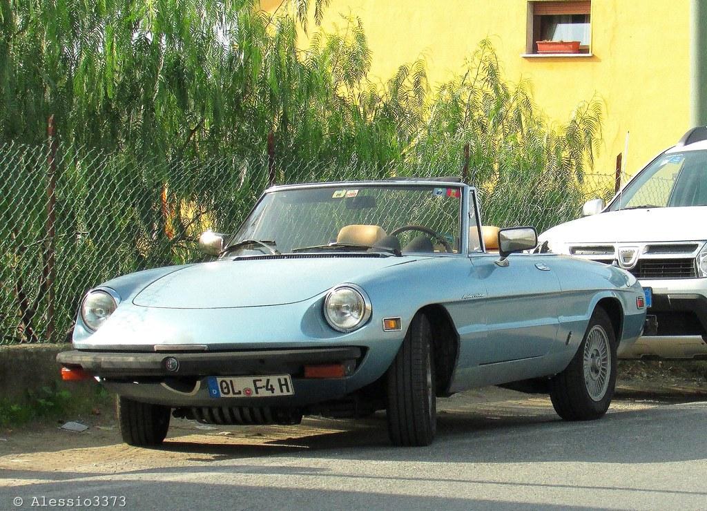 Alfa Romeo Spider Veloce 2000 America  Alessio  Flickr