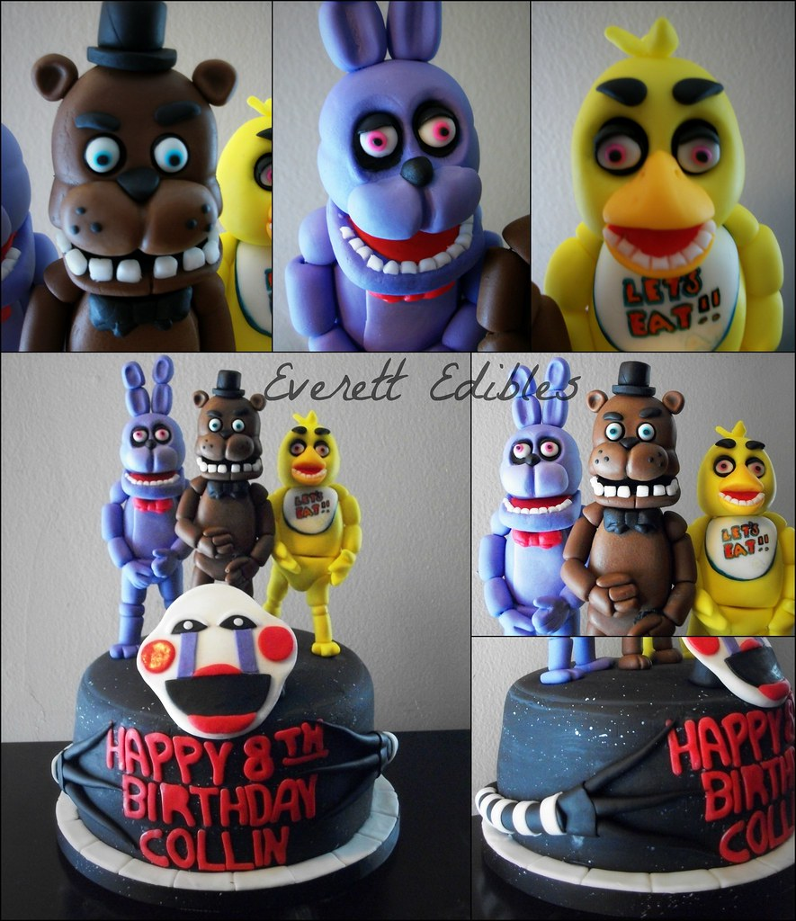 Five Nights At Freddy S Cake Face