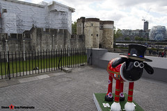 YEOMAN OF THE BAAARD No.37 - Shaun The Sheep - Shaun in the City - London - 150512 - Steven Gray - IMG_0291