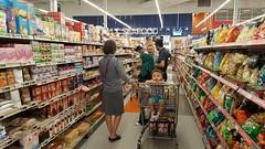 Walking the aisles