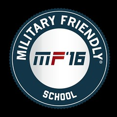 Military Friendly School 2016 Logo