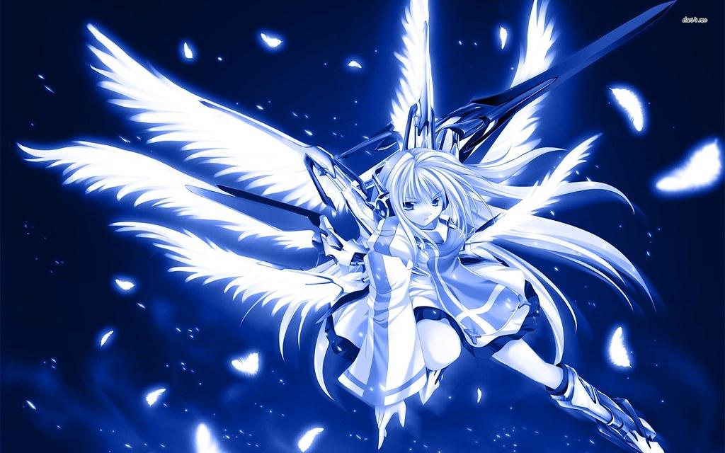 Anime Angel Warriors Wallpaper Free Download