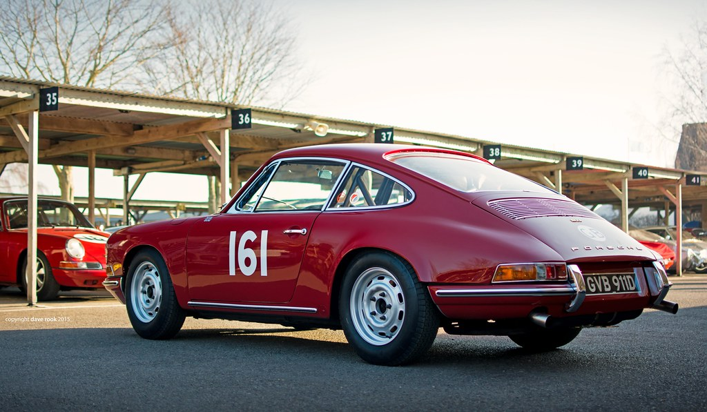 Rob Russell 1966 Vic Elford Porsche 911 2015 Goodwood