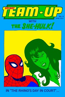 spidey team-up no.4 cover