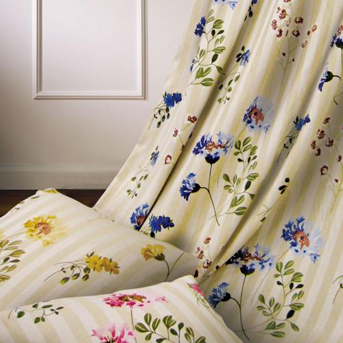 花開(獨家) 雅緻花卉 半遮光窗簾布 DA890125