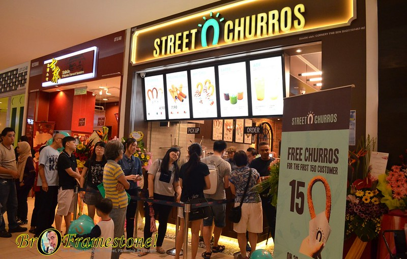Street Churros IOI City Mall, Putrajaya
