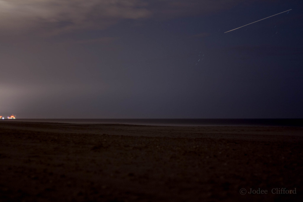 Perseid Meteor Shower Shooting Star | Atlantic City in the b… | Flickr