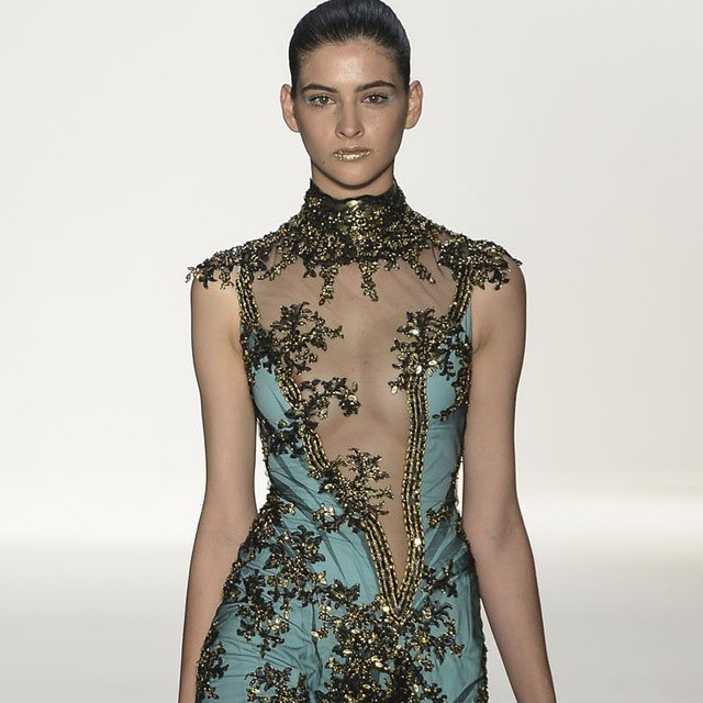Sexy couture evening dresses our for American haute couture designers