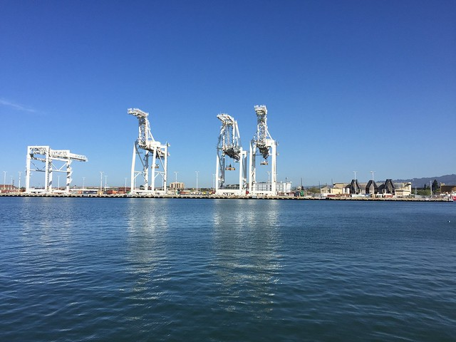 Container cranes, Alameda