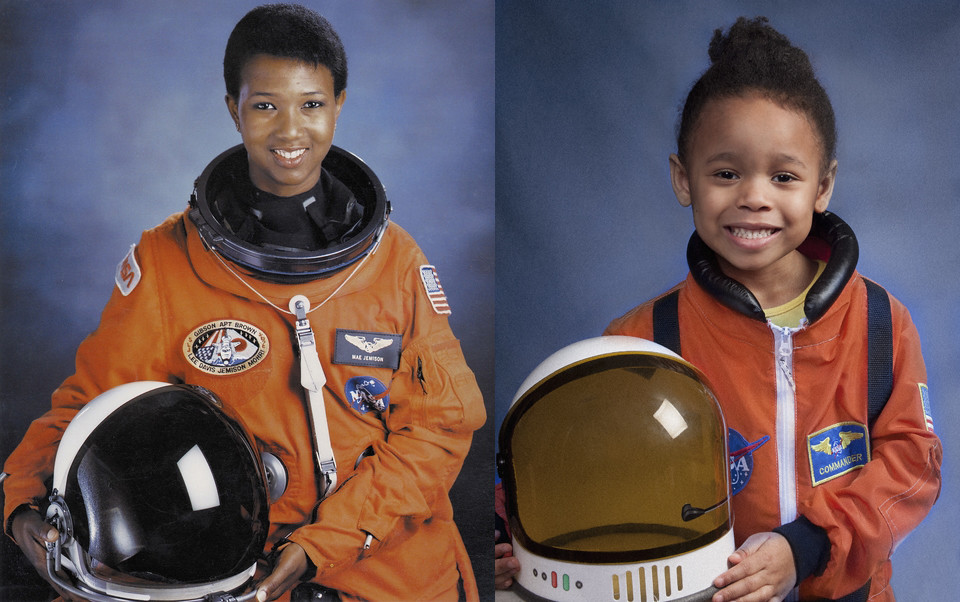 Lily As Mae Jemison My Daughter As Dr Mae Jemison Dr