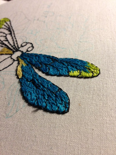 Dragonfly WIP - menagerie #3