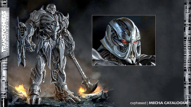TRANSFORMERS The Last Knight - Megatron