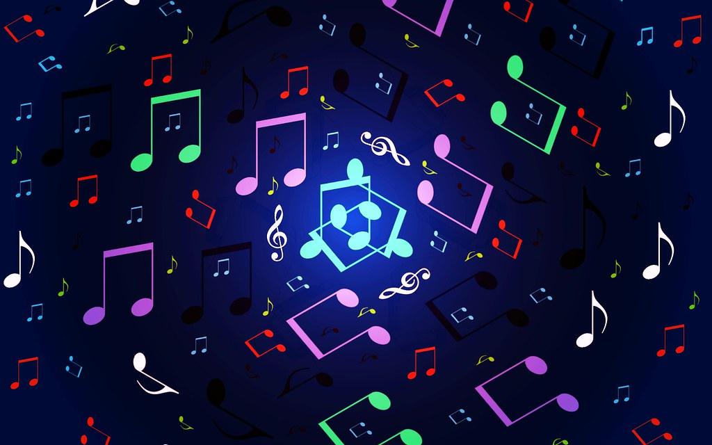 Music Notes Desktop Wallpaper: Laptop Backgrounds Music 4K Wallpaper
