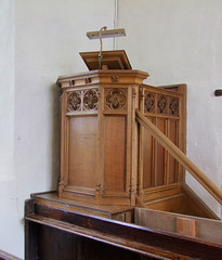 pulpit by Munro Cautley