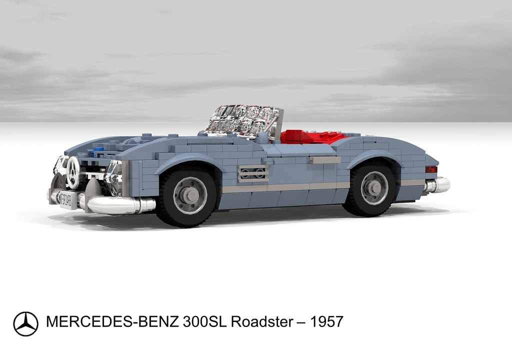 Mercedes-Benz 300SL Roadster (1957) | Chassis no. 198.042.75… | Flickr