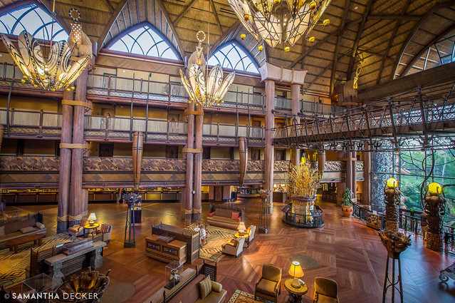 Good Morning Animal Kingdom Lodge