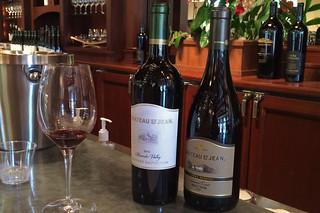 Chateau St. Jean - Wine Tasting reds