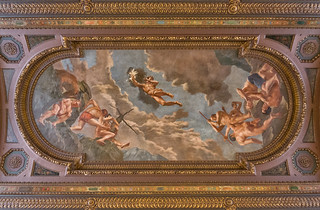 Ceiling in NYPL | by Manu Beaudon
