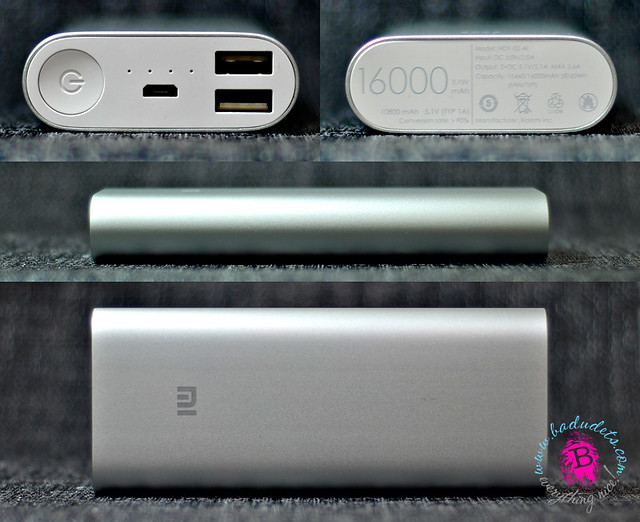 mi 16000 mah power bank specifications
