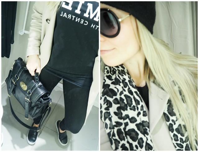 h&masu6, h&masu8, asu, ootd, outfit, outfit of the day, päivän asu, suosittu asu, suosituin asu, viime päivät, h&m, hennes and mauritz, beige, musta, black, shades, colors, homies, t-paita, t-shirt, bag, mulberry, laukku, asusteet, accessories, vaatteet, clothing, takki, coat, beige takki, pitkä takki, trenssitakki, trench coat, kanvaasikengät, kengät, shoes, canvas shoes,