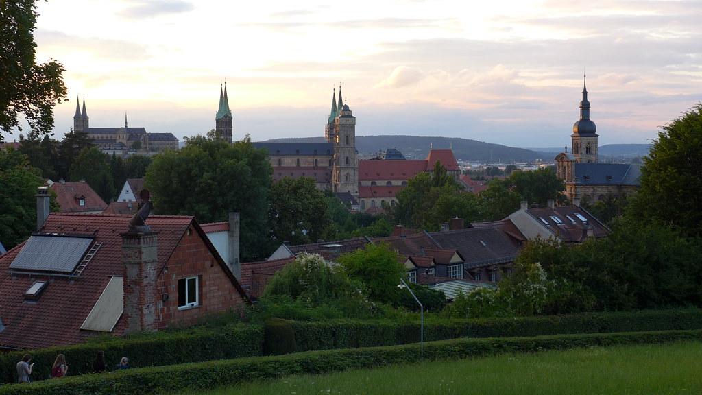Bamberg Im Abendlicht Vom Spezial Keller Aus Flickr