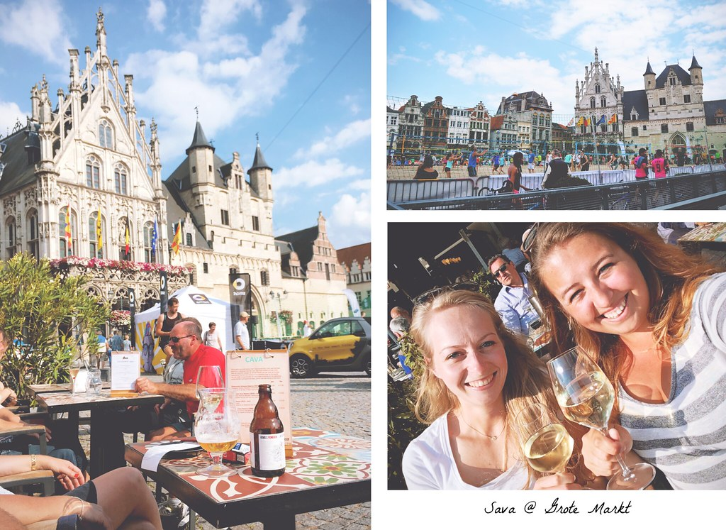 Cheers to sunny Mechelen (Belgium) | via It's Travel O'Clock