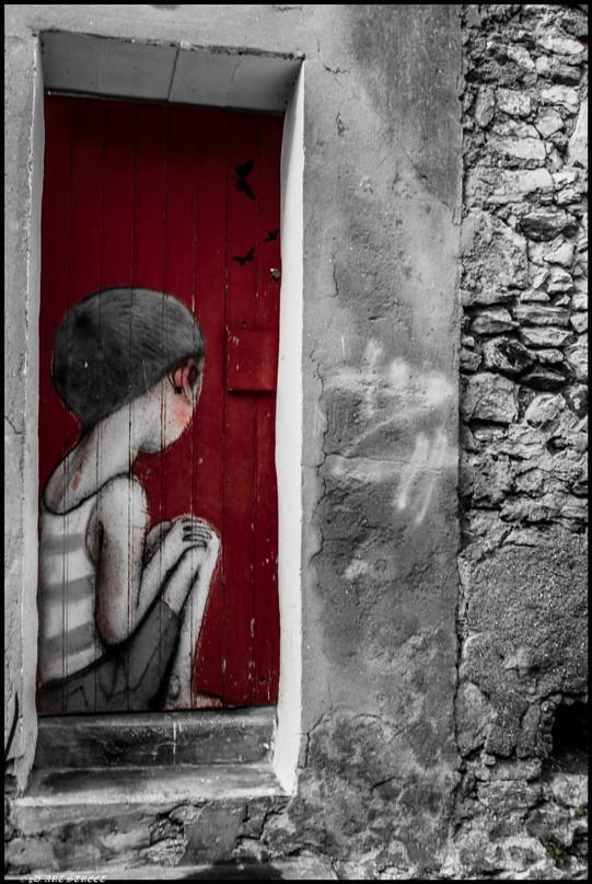 ... Street Art sad kid on door par SETH Globe-Painter | by dumontet.gilles  sc 1 st  Flickr & Street Art sad kid on door par SETH Globe-Painter | Street A\u2026 | Flickr