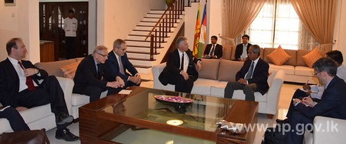 Federal Councillor Didier Burkhalter meets Governor