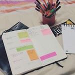 #planner #planningtime #week18