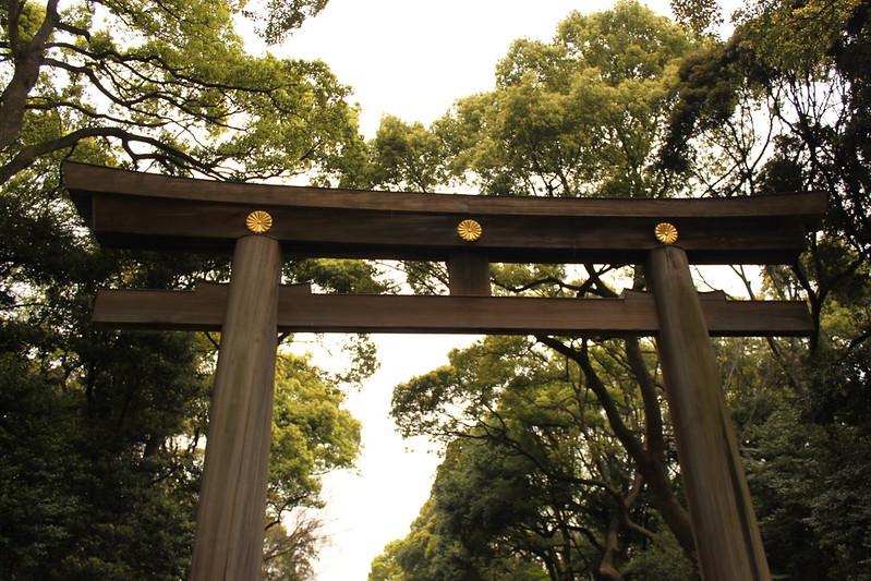 Gate to Meiji Shrine