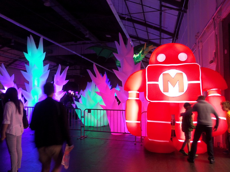 Inflatable Illuminations and Makerbot