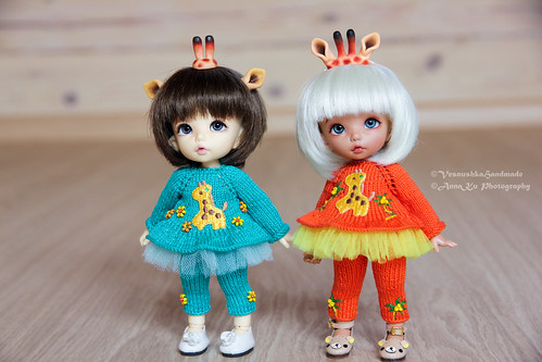 Giraffe outfits for pukifee/lati yellow | by AnnaZu