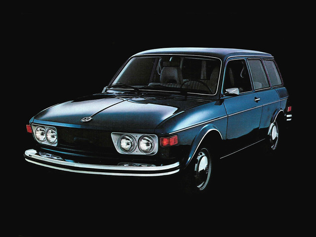 Универсал Volkswagen 412 Variant. 1972 – 1974 годы