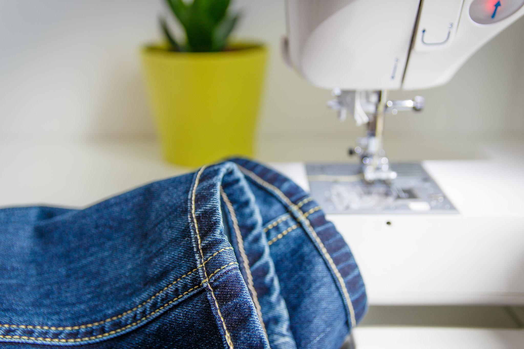 inne spodnie skrócone tę samą metodą