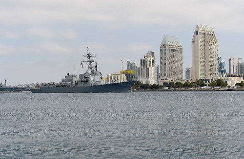SAN DIEGO - The guided-missile destroyer USS Stockdale (DDG 106) returned to Naval Base San Diego Thursday, August 11, after a 205 day deployment to the U.S. 7th Fleet area of operation.