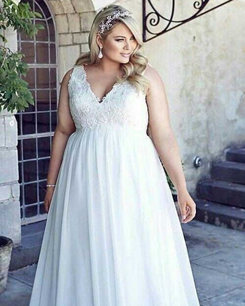 Plus Size Wedding Gowns Like This Can Be Totally Custom Flickr