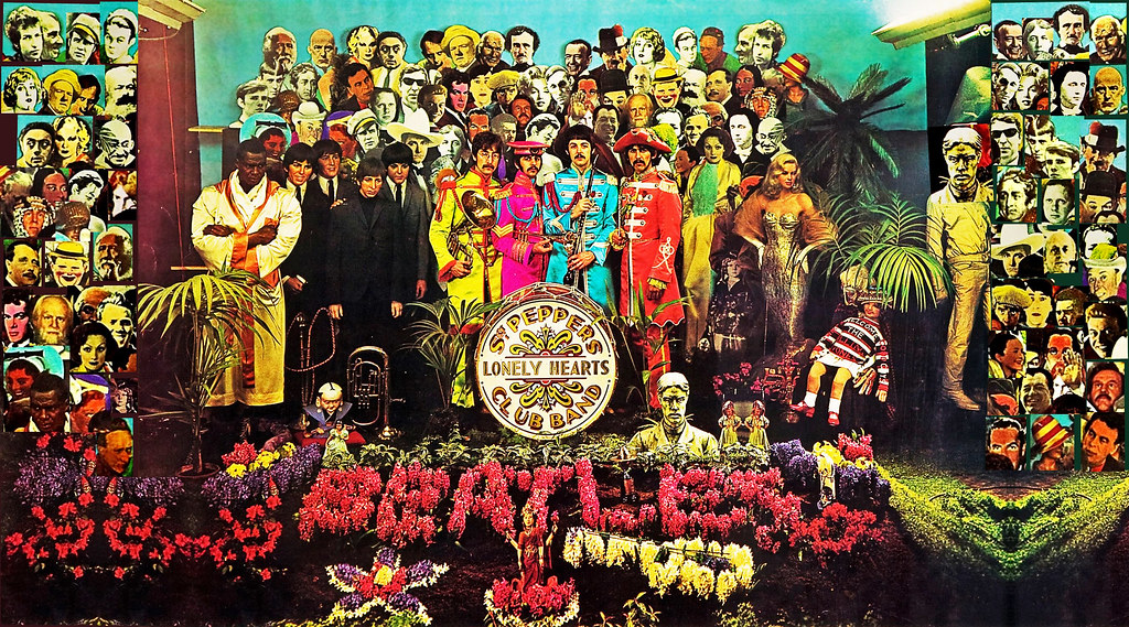 0002 The Beatles Sergeant Peppers Lonely Hearts Club B Flickr