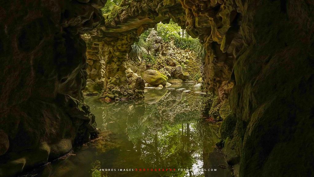 Sintra el misterio da regaleira jardines y estanques en for Jardines quinta da regaleira