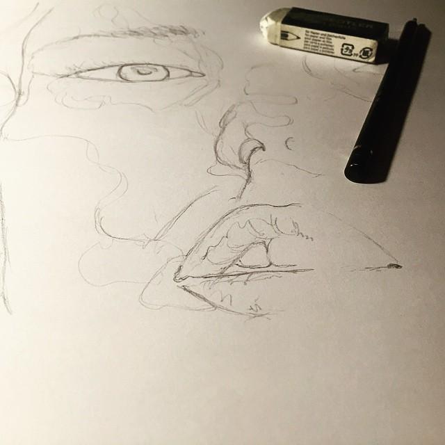 pencil base.
