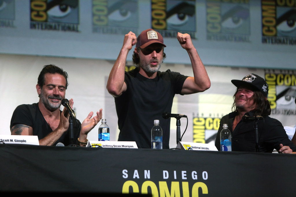 Jeffrey Dean Morgan Andrew Lincoln Amp Norman Reedus Flickr