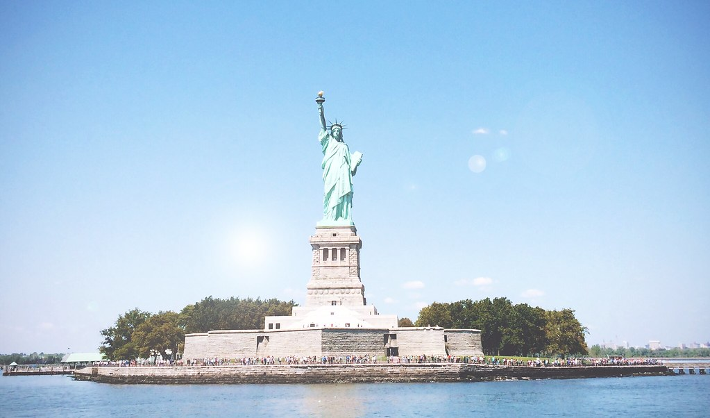 Liberty Island, New York City | via It's Travel O'Clock