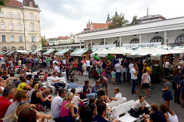 Festiwal kuchnii w Ljubjanie