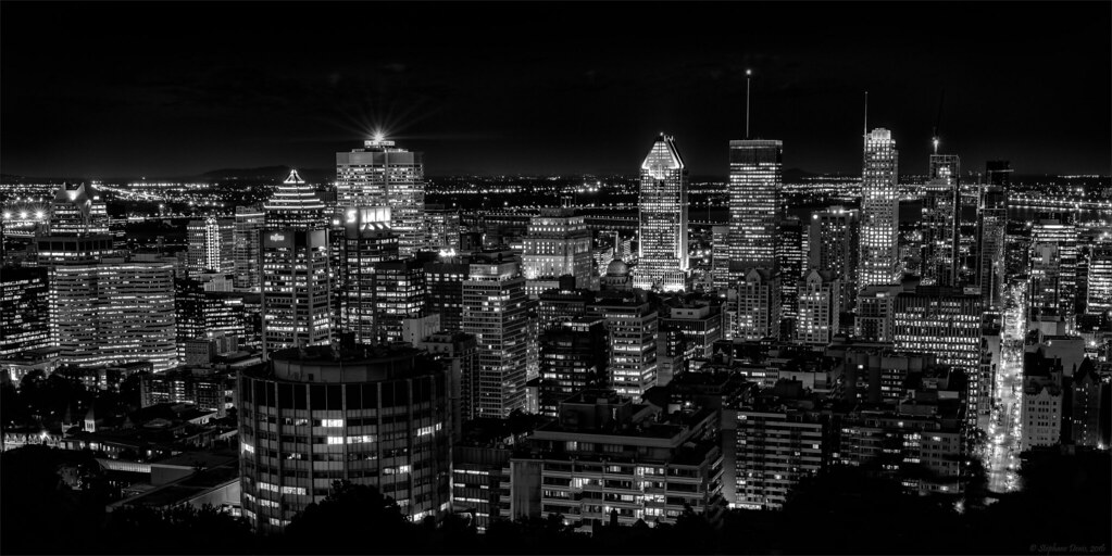 montr al centre ville noir et blanc downtown montreal bl flickr. Black Bedroom Furniture Sets. Home Design Ideas