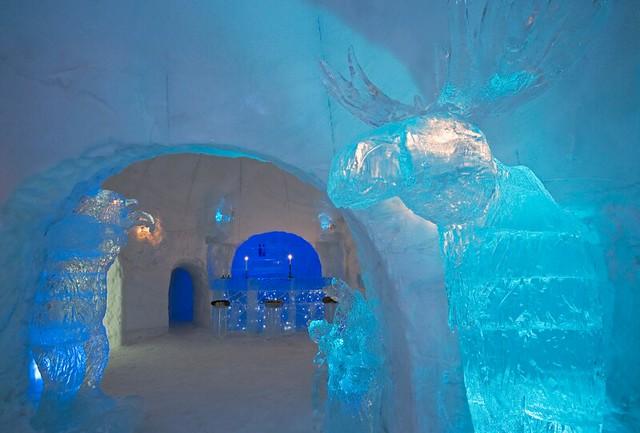 Hotel de hielo en Noruega