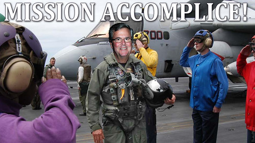 Jeb Bush - Mission Accomplice